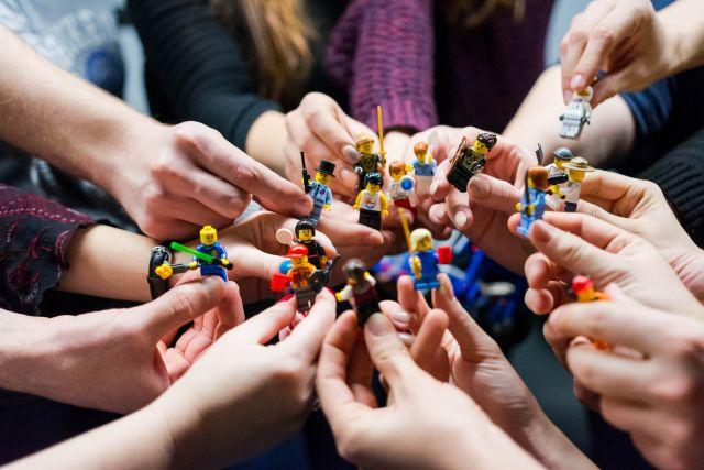 Verschiedene Legofigurern